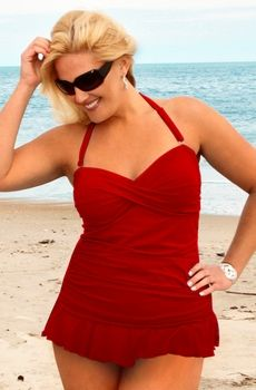 this site has great plus size swimwear and lingerie