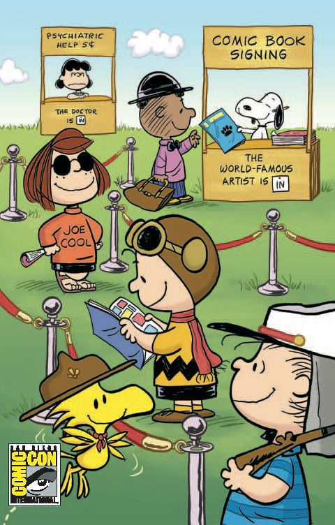 BOOM! Studios: Peanuts #1 SDCC Exclusive...This is cool!