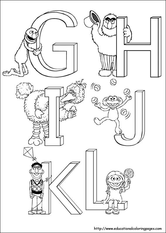1000 images about coloring pages on pinterest for Sesame street number coloring pages