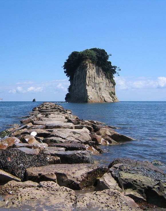 Mitsukejima in Suzu, Ishikawa, Japan