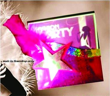 Invitación Fashion Party