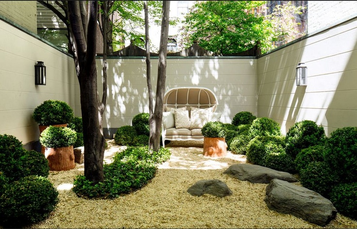 17 best images about interior courtyard on pinterest for Small garden courtyard designs