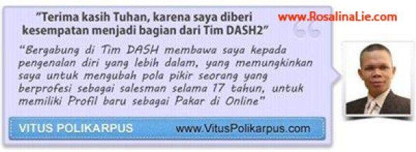 Testimoni DASH2 - RosalinaLie.com - Vitus Polikarpus