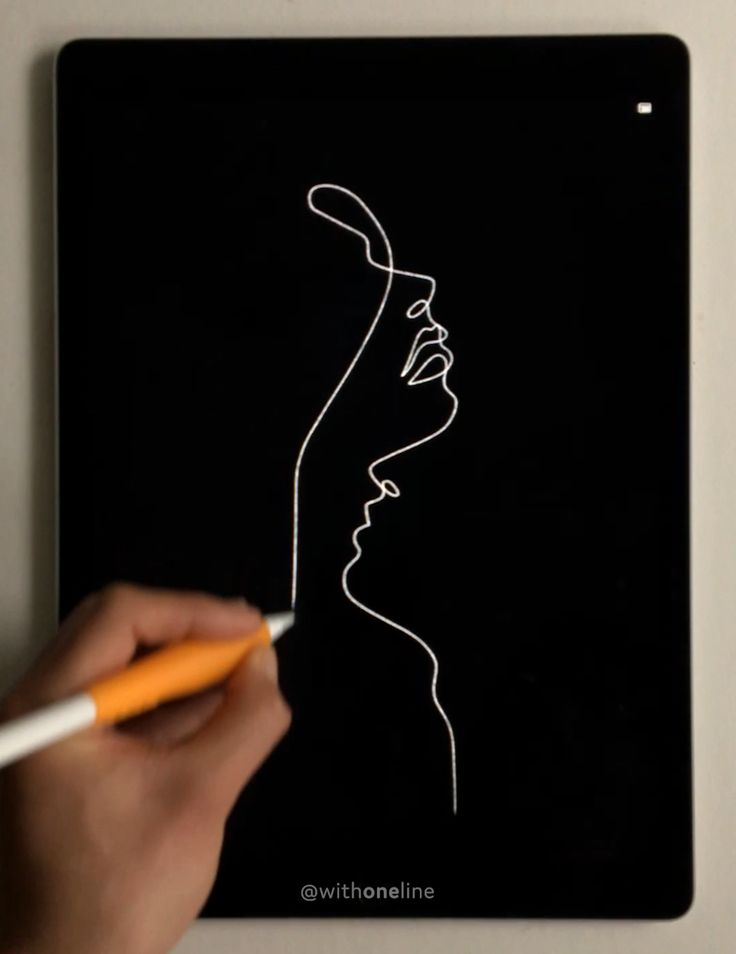 Lips Like A Compass Line Art Minimal Art One Line