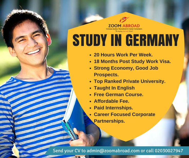 Germany is an attractive place to study and German university degrees are highly respected by employers worldwide.