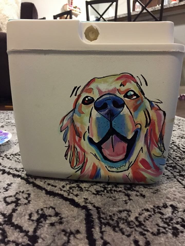 Cooler Connection on Facebook  a great dog side of a cooler!