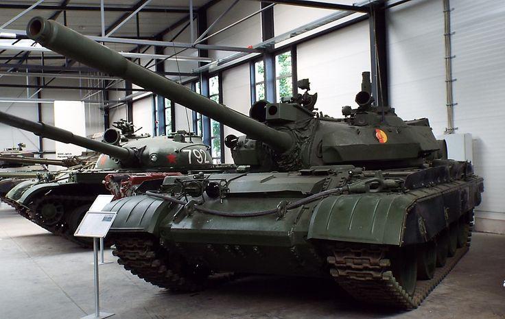 Soviet T-55 AM2B 1986 Panzer Museum Munster