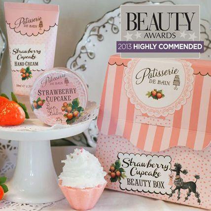 Rose & Co ストロベリーカップケーキ ハンドクリーム&リップ