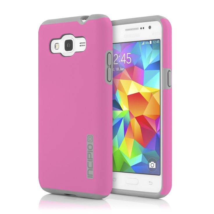 Incipio Samsung Galaxy Grand Prime Dual PRO Case - Pink / Grey
