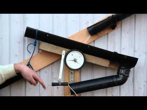 Natural Pool rainwater diverter - a small piece from a bicycle to survive the drought - YouTube