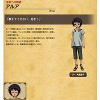 Arua / アルア is a character from Legend of the Legendary Heroes / 伝説の勇者の伝説
