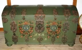 norwegian bridal chest