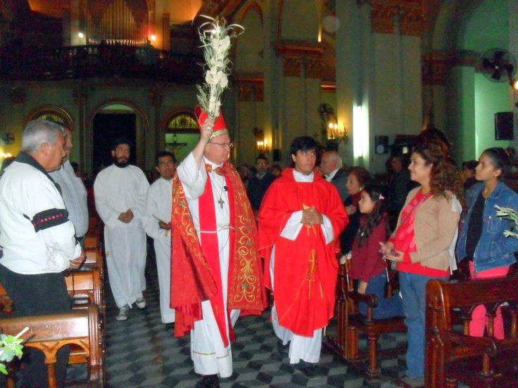 La liturgia del Domingo de Ramos anticipa el triunfo de la resurrección; mientras que la lectura de la Pasión nos invita a entrar consciente...