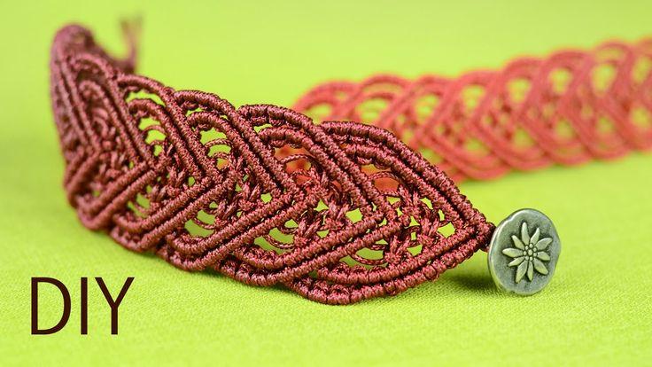 Amazing Macramé Heart Bracelet Tutorial ❤