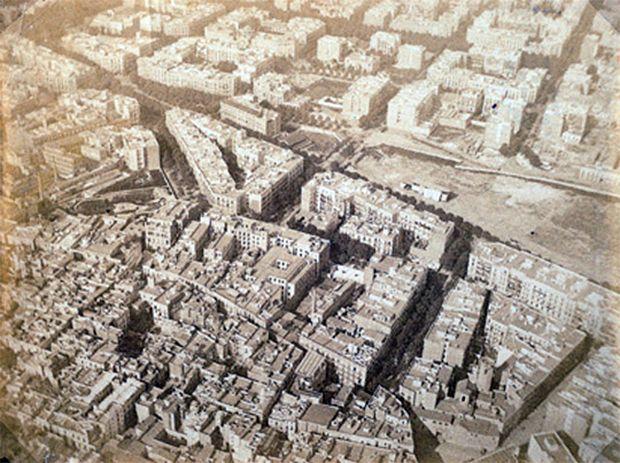 Barcelona 1888: Las primeras fotografías aéreas españolas y un duro para subir en globo - Tecnología Obsoleta