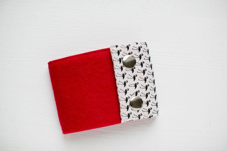 portfel czerwony w marmollada na DaWanda.com #niezchinzpasji