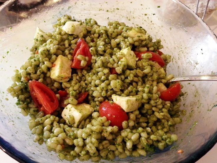 Cebada Perlada - Recetas de cebada perlada - Ensaladas de cebada perlada…