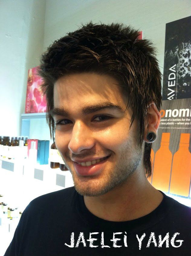 Asian Mullet Hairstyle For Men