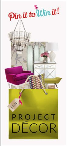 Pin it to win it contest at:  http://projectdecor.com/contest/pintowin/2