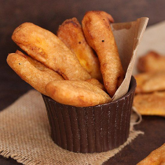 Banana fritters / Kerala Pazham pori - Great evening snack for kids using ripe planatins