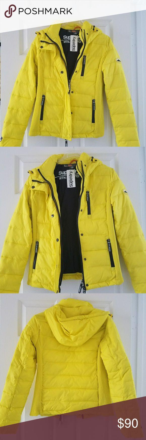 Jacket Superdry super soft jacket.  Brand new Superdry Jackets & Coats Puffers