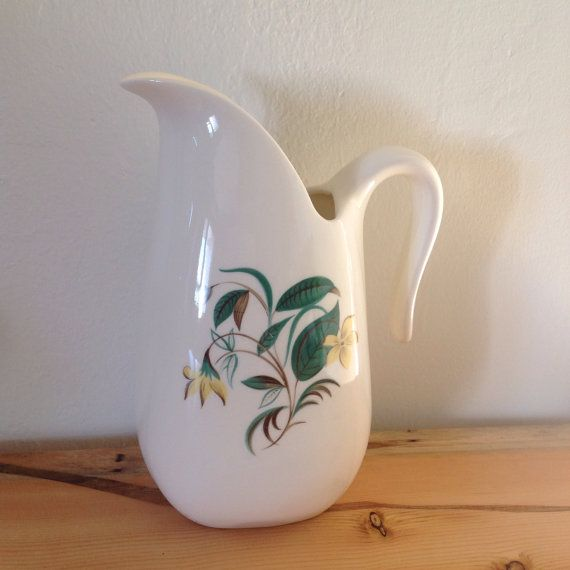 Pitcher by Starlight China Dinnerware Mid by BlkBttrflyDsgns