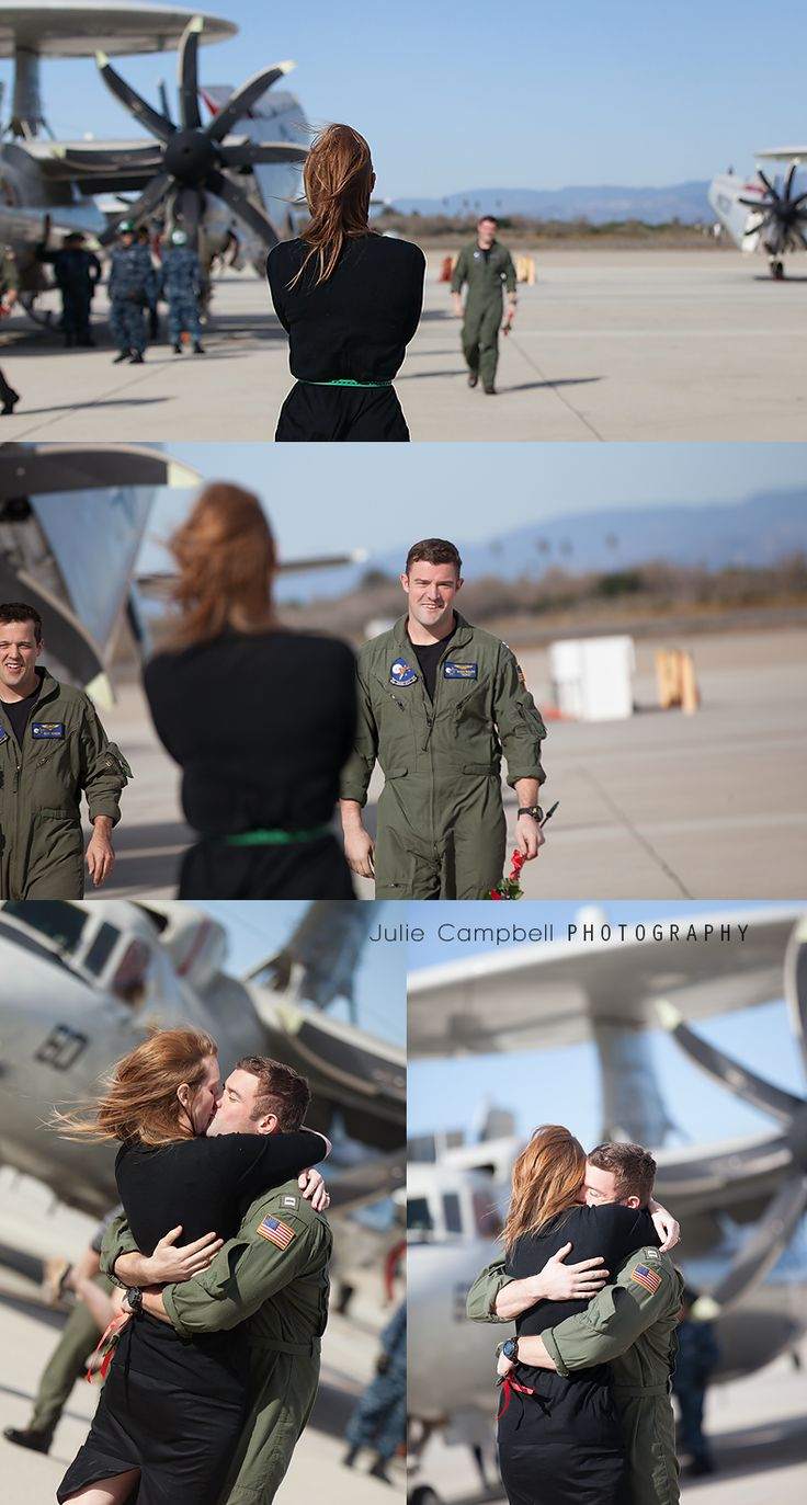 Military Homecoming | Julie Campbell Photography