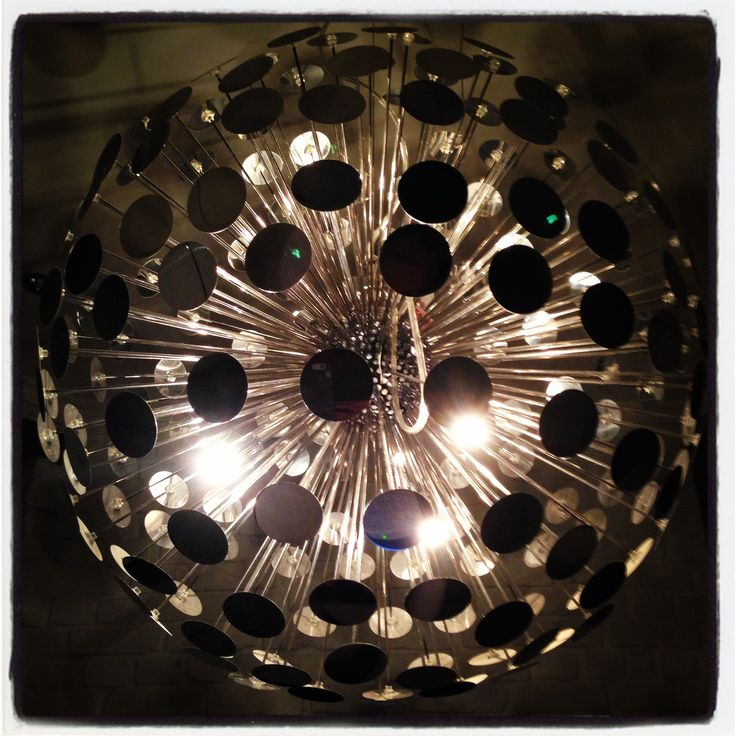 Kitchen lamp close up!