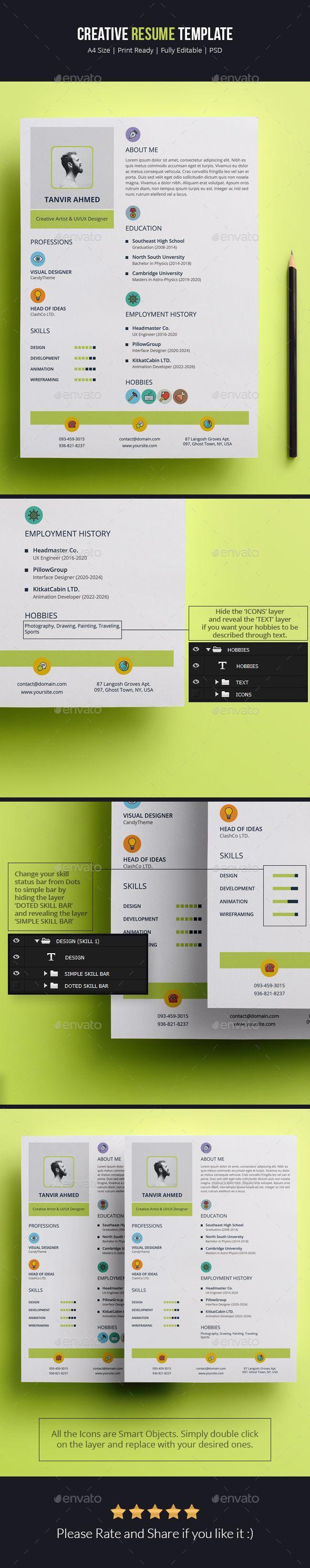 Creative Resume Template Creative Resume Templates