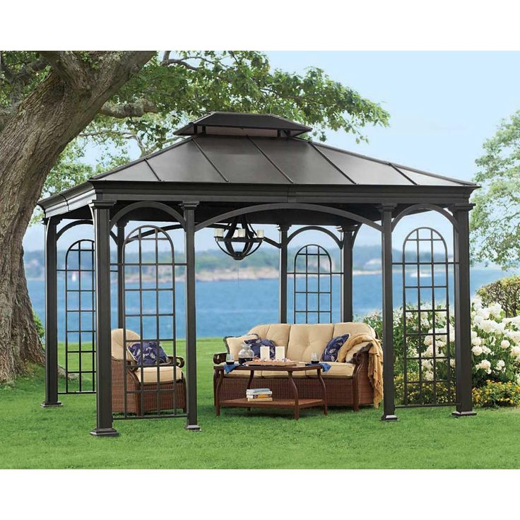 17 best ideas about hardtop gazebo on pinterest gazebo for Pergola aluminum x