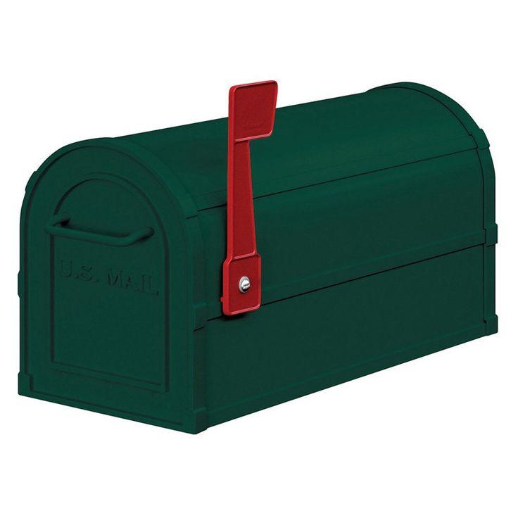 Salsbury Heavy-Duty Rural Mailbox Green - 4850GRN
