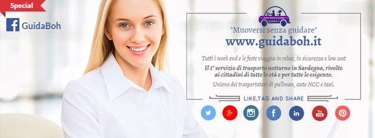 """www.guidaboh.it """"Muoversi senza guidare"""" in sicurezza, relax e low cost."""