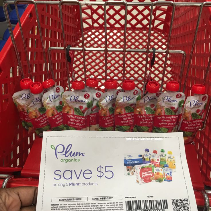 Save $5/5 Plum Organics Products (FREE at Target) http://simplesavingsforatlmoms.net/2017/08/save-55-plum-organics-products-free-at-target.html