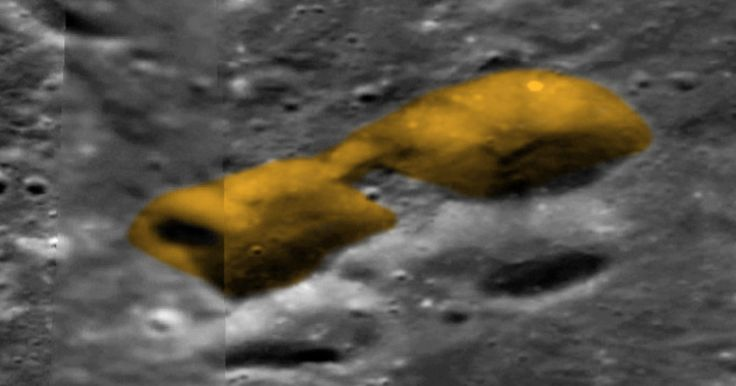 UFO SIGHTINGS DAILY: 15km entrance to alien base found on Earths moon, Oct 29, 2017, UFO Sighting News.