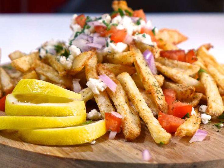124 best greek food images on pinterest greek recipes greek homemade baked greek fries recipe with feta cheese forumfinder Choice Image