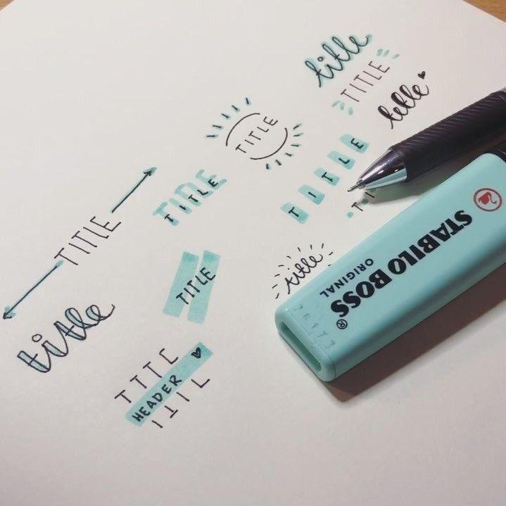 Außergewöhnlich Über 33 einfache Ideen für das Bullet Journal zur Vereinfachung Ihrer täglich…