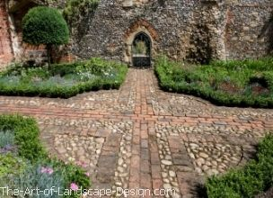 Delightful Small Yard Brick Patio Designs | Pictures Of Patios, Flagstone Patios,  Pebble Mosaic