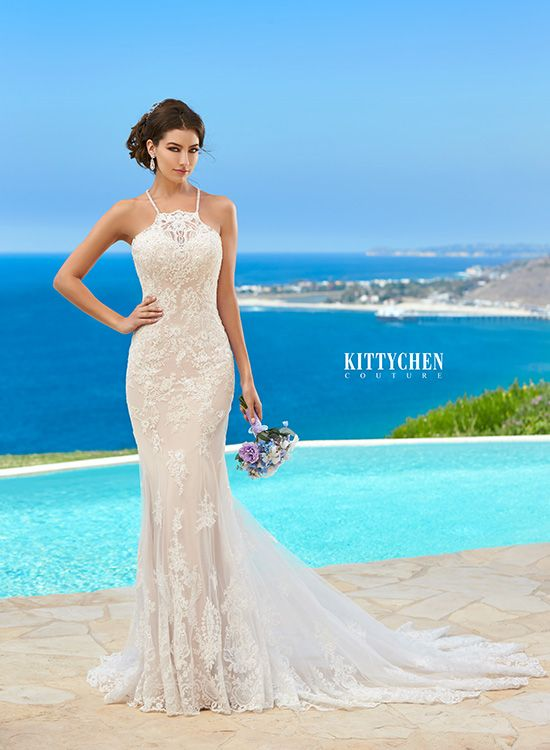 Wedding dresses bridal gowns kittychen couture lexy for Caribbean wedding dresses for guests