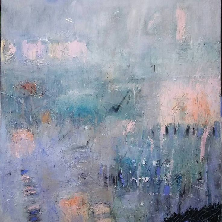 """Lakeside Meditation"" #landscape. #artiststudio #acrylic #canvas #100x110cm #expressionist #kunst #artcollector #gallery #Qdos"