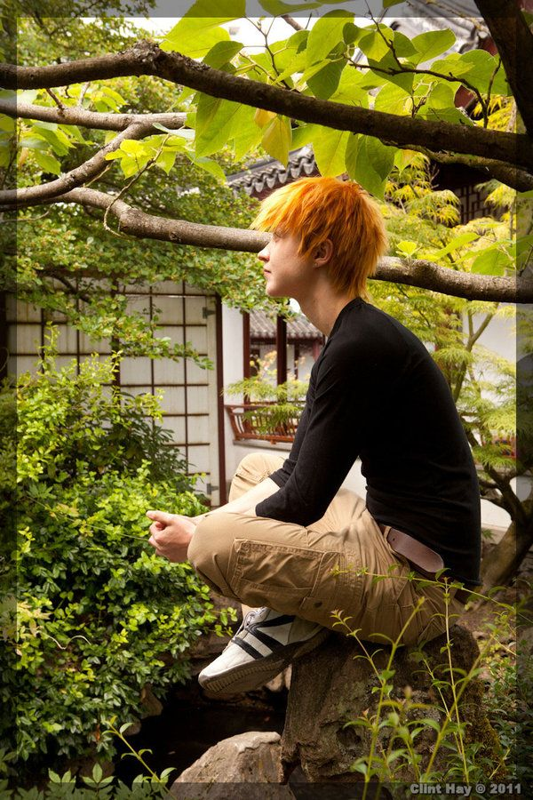 Kyo by twinfools.deviantart.com...Kyo from Fruits Basket