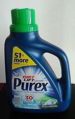 Purex Laundry Detergent Mountain Breeze 75 fl oz. Jug