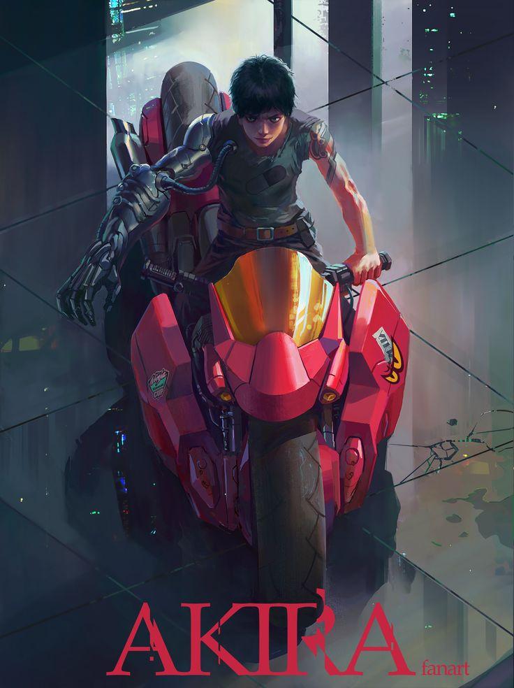 ArtStation - Akira Fanart, samme samme