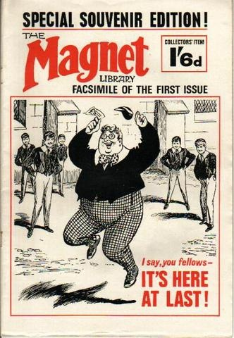 Billy Bunter in Magnet form