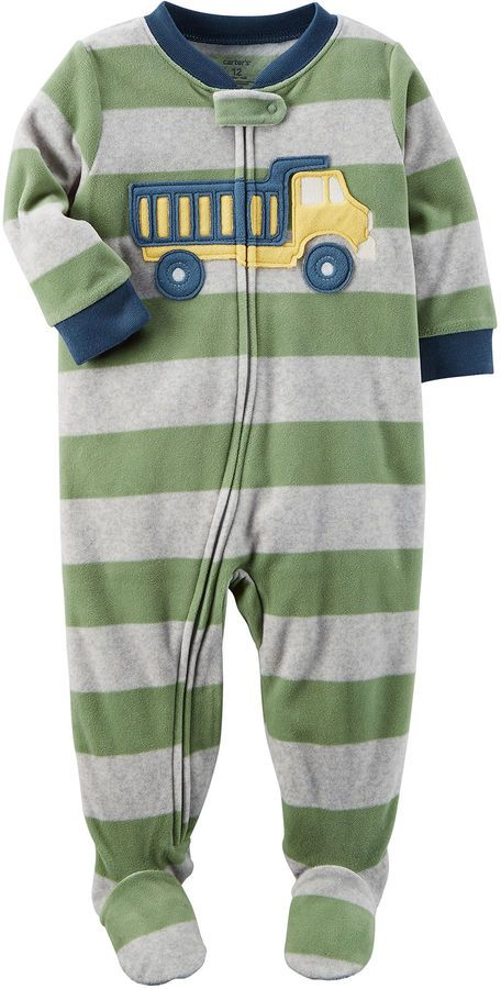 27ffacdc1f07 Carter s Long Sleeve One Piece Pajama-Toddler Boys