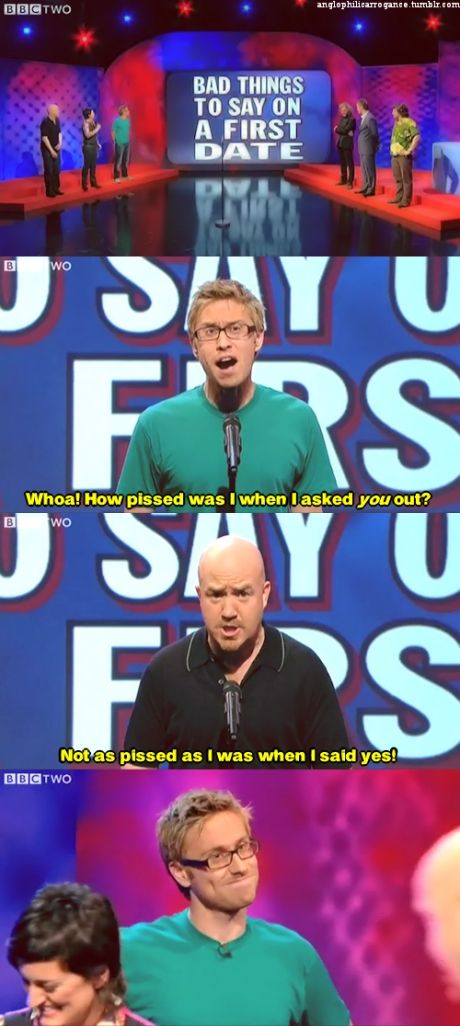 Russell Howard and Andy Parsons on Mock the Week