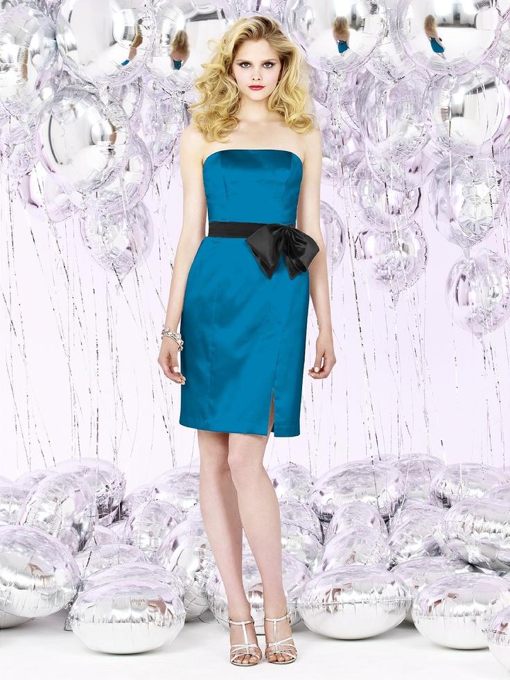 37 best Bridesmaids Dresses in Blue images on Pinterest | Flower ...