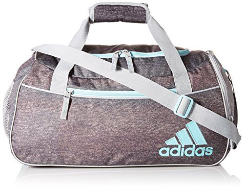adidas Squad II Duffel, Heather Granite Clear Grey/Clear Onix/Frozen Blue/Chalk White, One Size adidas www.amazon.com/...