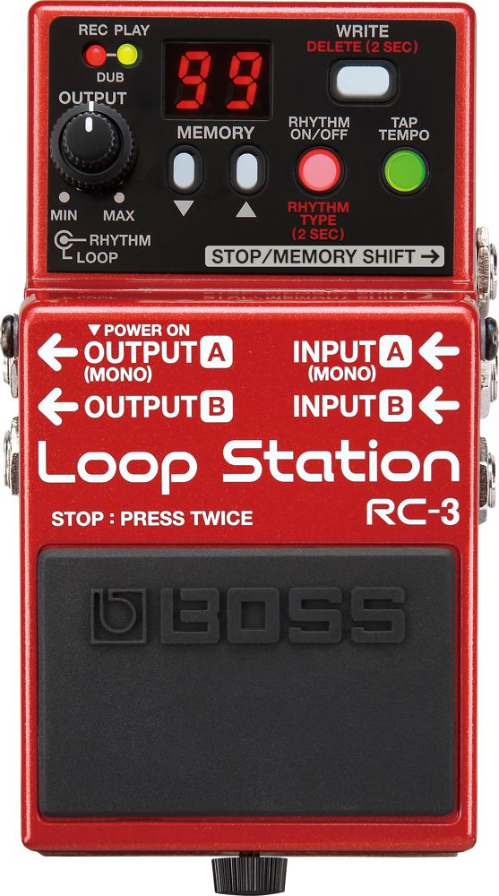 Boss RC-3 Loop Station d'occasion - Audiofanzine