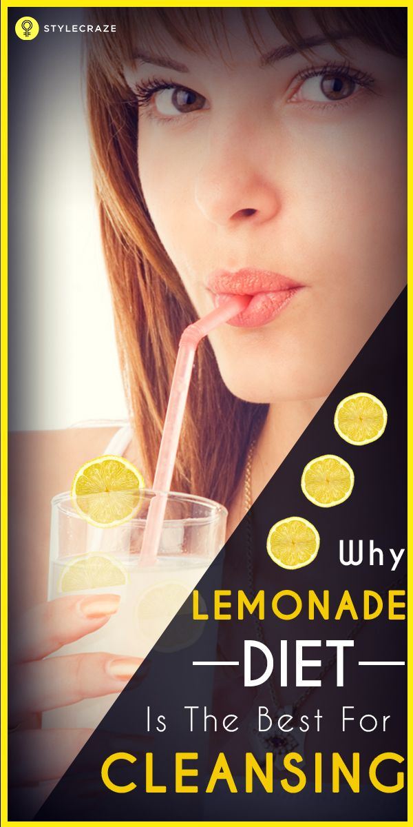 why lemonade diet is the best for cleansing final