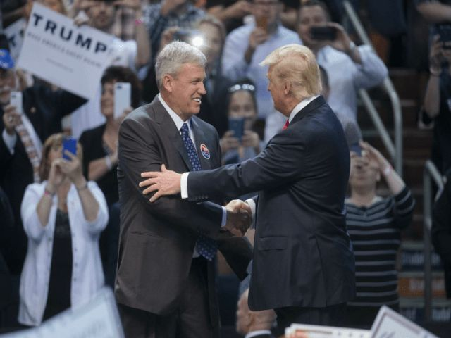Former Bills and Jets head coach Rex Ryan was a big fan of President Trump, he even introduced Trump when he came to Buffalo for a